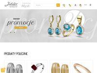 Złote obrączki ślubne lub pierścionki z brylantami