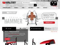 Kelton.pl - wyposażenie siłowni