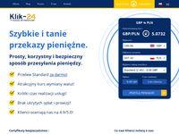 Przelewy z UK do Polski Klik-24