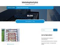 Wieszak metalowy - blog