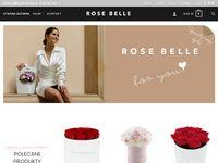 Rosebelle - kwiaty wieczne i biżuteria z żywicy