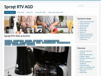 Sklep internetowy AGD RTV - blog