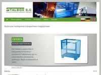 Stalbox - producent pojemników siatkowych i metalowych