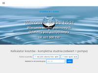 Studnie głębinowe Łódzkie