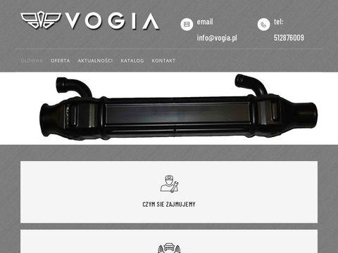 VOGIA - recyrkulatory spalin, chłodnica cieczy, sprzęgła wiskotyczne