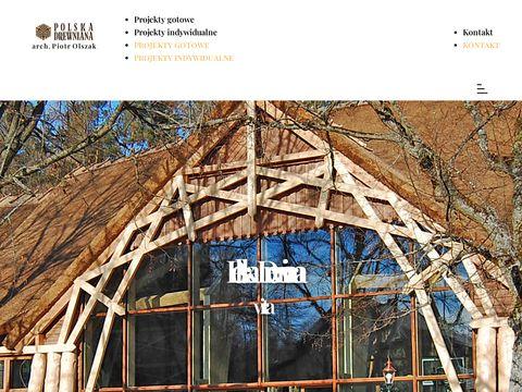 POLSKA DREWNIANA dom z drewna