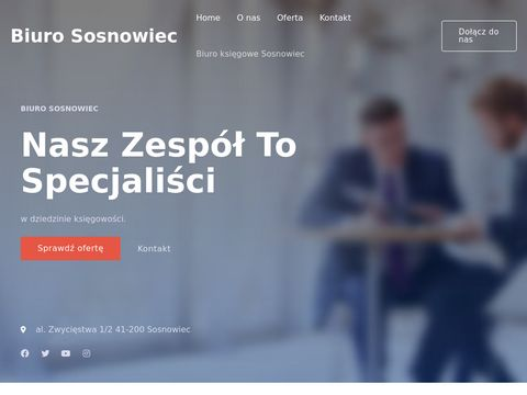 Biuro Rachunkowe Sosnowiec - Kompleksowe rozliczanie, PIT, VAT, ZUS
