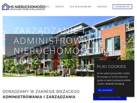 HS NIERUCHOMOŚCI Zarządzanie Nieruchomościami Łódź