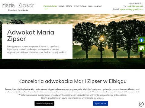 Www.adwokatzipser.pl adwokat ElblÄ…g