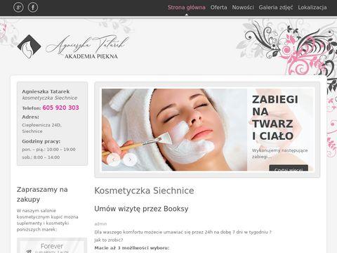Akademia PiÄ™kna - Siechnice: Kosmetyczka