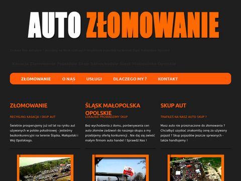 Auto Z艂omowanie skup samochod贸w / autoskupzlomowanie.pl