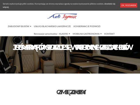 Grill BBQ - grille, produkcja, AutoSzymosz   AutoSzymosz, zabudowy bus贸w, grill BBQ