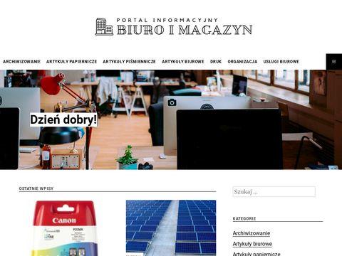 Biuroimagazyn.com - Bia艂y papier do drukarki