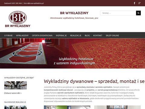 Wykładziny Warszawa - BR Wykładziny