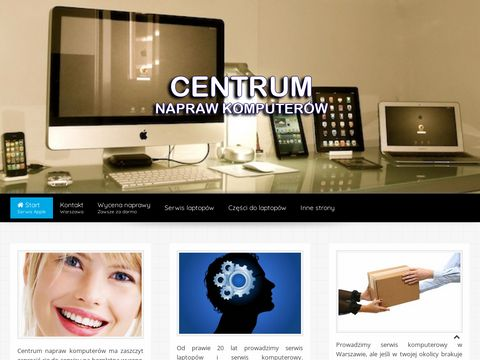 Centrum Napraw Komputer贸w - centrumnaprawkomputerow.pl