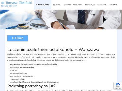 Specjalistyczny proktolog Warszawa