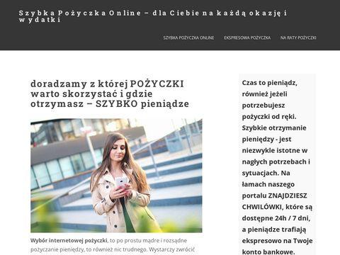 Szybka Chwilówka Online – chwilowka-szybko.pl