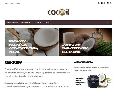 Cocoil - Olej Kokosowy