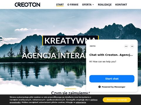Creoton.pl - strony www