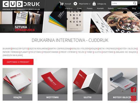 Druk książek - CudDruk.pl