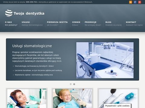 Gabinet Stomatologiczny Legionowo - Marzanna BÄ…k-Nowak