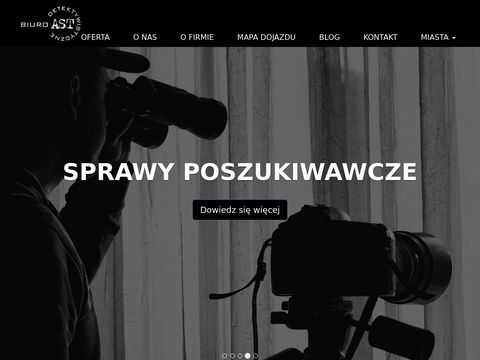 """Biuro Detektywistyczne """"AST"""" Poznan"""