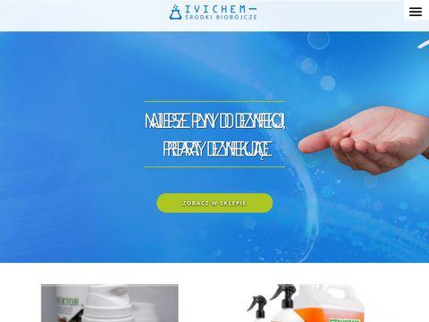 Preparaty biobójcze do dezynfekcji rąk i powierzchni IVICHEM