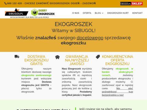Ekogroszek workowany CzÄ™stochowa