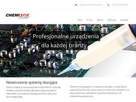 CHEMISTIK - Techcon Systems, Janome, WALTHER PILOT, SULZER MIXPAC