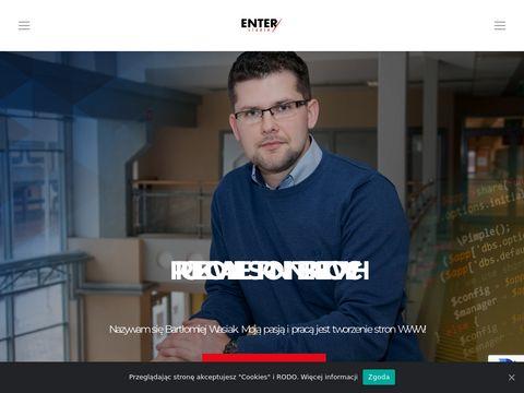 Tworzenie stron www PÅ'ock