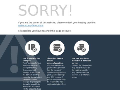 Face Club internetowy serwis imprezowy