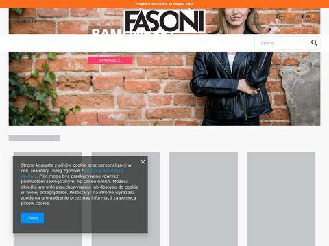 Odzież damska - sklep internetowy Fasoni.pl