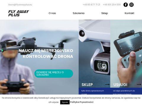 Filmowanie dronem Bia艂ystok - Fly Away Plus