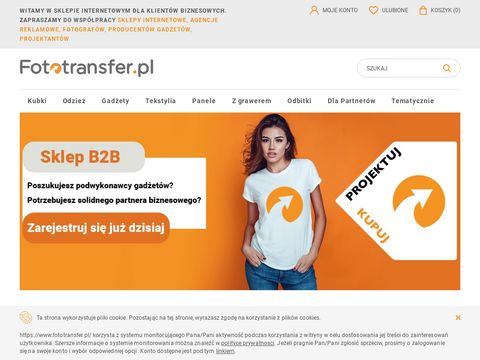 Fototransfer.pl - Fotogadżety z własnym nadrukiem.