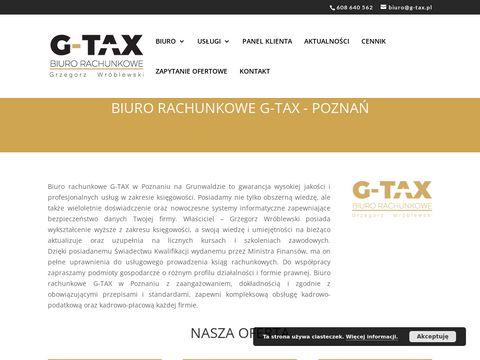 G-Tax Biuro rachunkowe Poznań