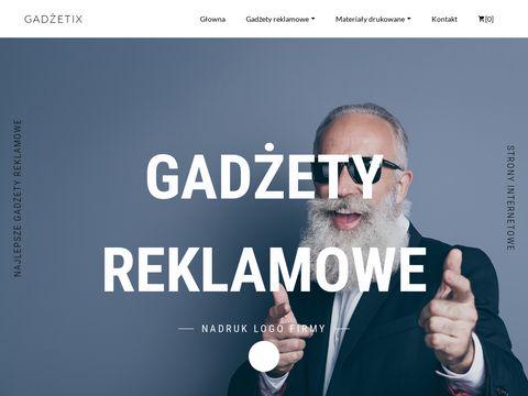 Sklep z gadżetami reklamowymi Gadzetix.pl