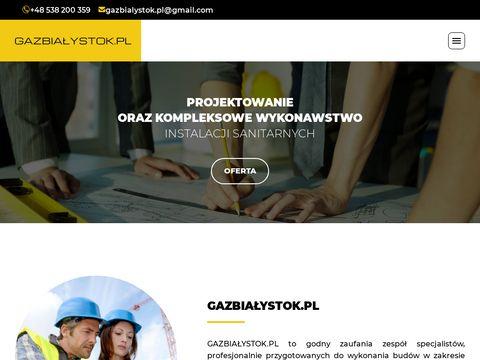 Gazbialystok.pl - Przyłącza i instalacje gazowe w Białymstoku