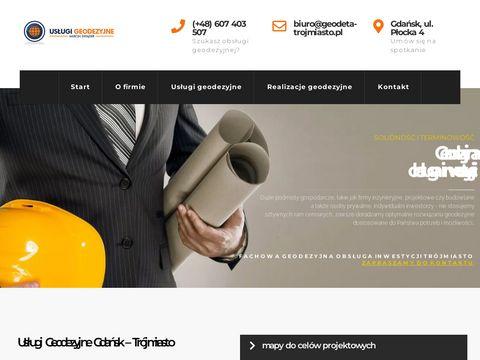 Usługi geodezyjne Gdańsk - geodeta-trojmiasto.pl