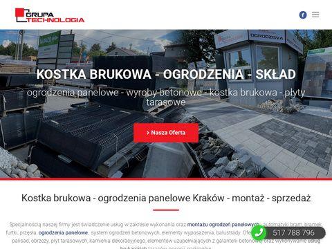 Ogrodzenia panelowe Kraków - Grupa Technologia