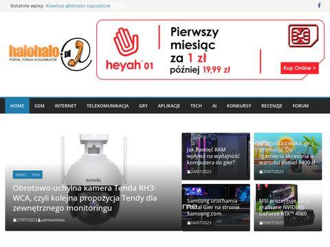 Halohalo.pl - to co najciekawsze w telekomunikacji