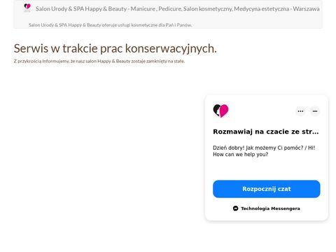 Zabiegi kosmetyczne - happy-beauty.pl