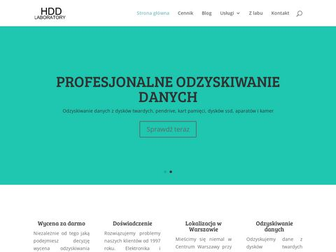 Odzyskiwanie danych - hddlaboratory.pl