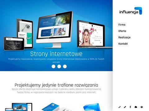 Strony internetowe Nowy S膮cz, Influencja.pl