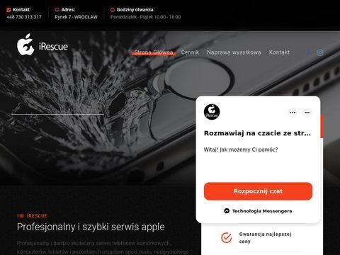 Serwis apple Wrocław - irescue.pl