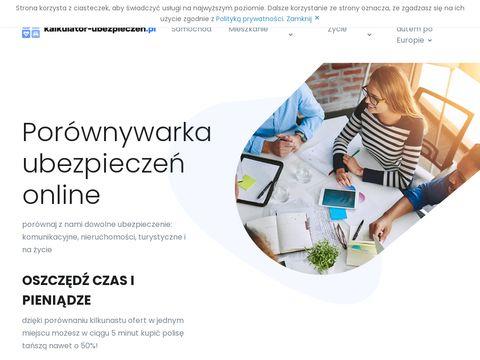 Oblicz swoje OC na kalkulator-ubezpieczen.pl