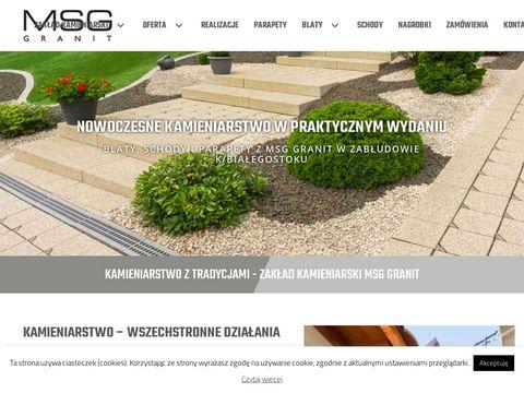 Kamieniarstwo Białystok - MSG Granit