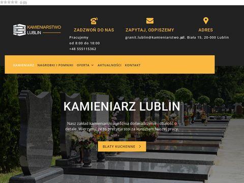 Zak艂ad kamieniarski Lublin - kamieniarzlublin.pl