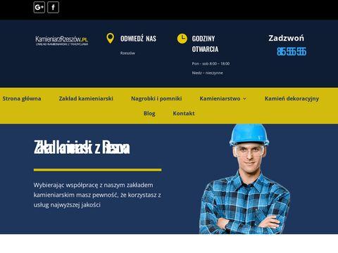 """Nagrobki Rzeszów - """"kamieniarzrzeszow.pl"""""""