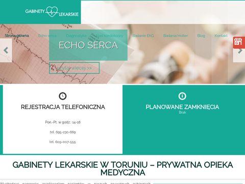 Www.kardiologtorun.pl kardiolog Toruń