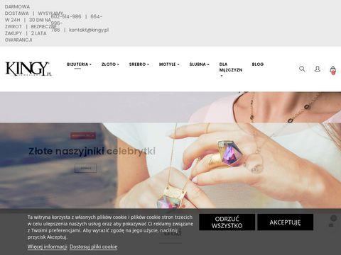 Sklep online z biżuterią - kingy.pl